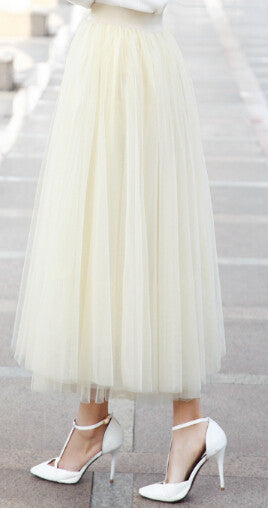 The Perfect Tutu Midi Skirt