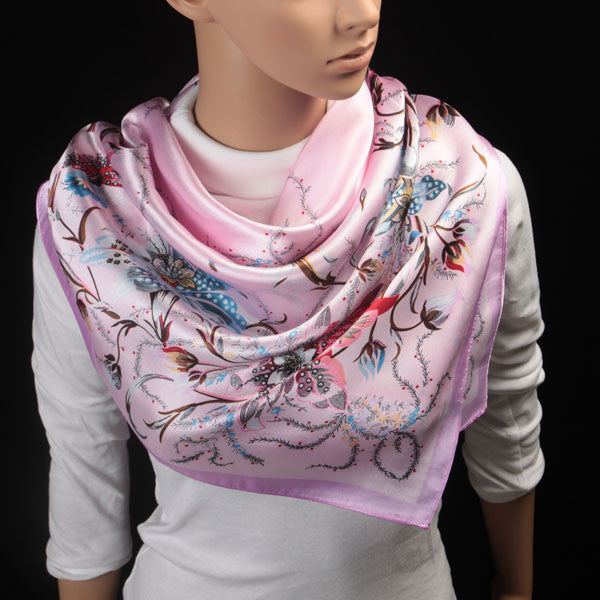 Big Size Silk Square Scarf