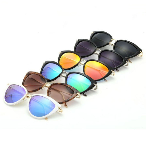 AEVOGUE Newest Alloy Temple Sunglasses