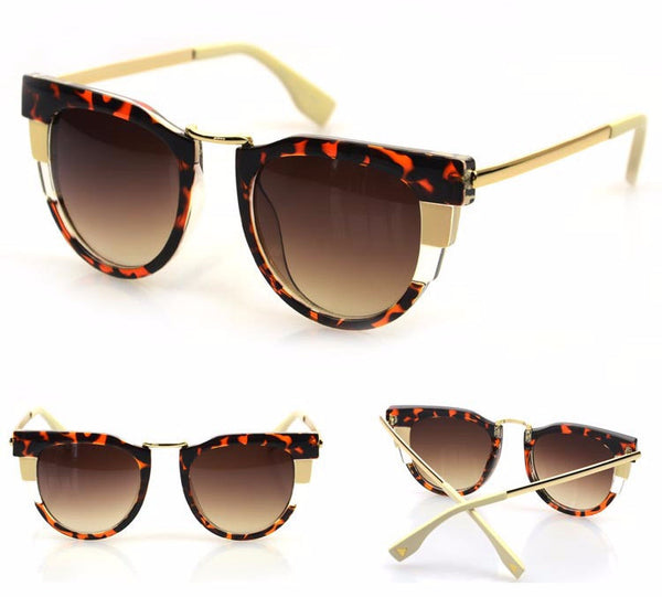Geometry Cat Eye Sunglasses