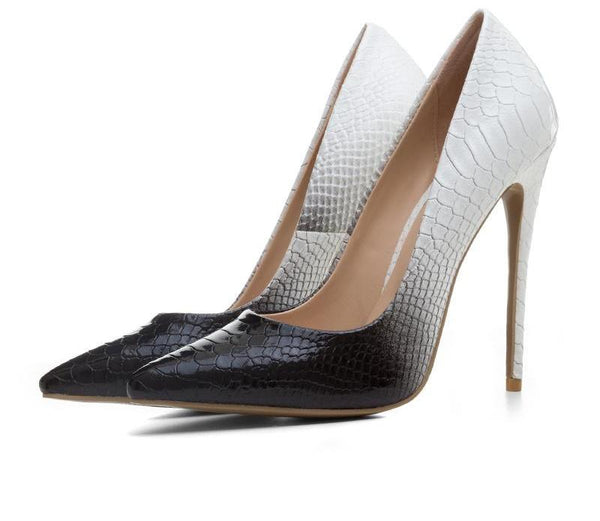 Snakeskin Ombre Classic Pumps