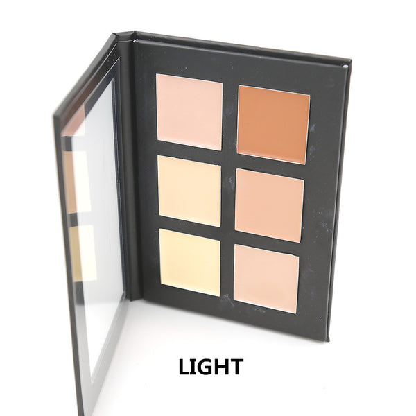 6 Colors Cream Contour Palette Kit