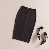 The Sixties Retro Knee Length Pencil Skirt