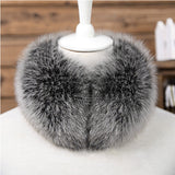 Fox Fur Neckwarmer Scarf
