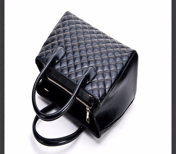 Genuine Leather Neverfull Quilted Bag