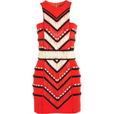 Masai Maiden Beaded Luxurious Mini Dress