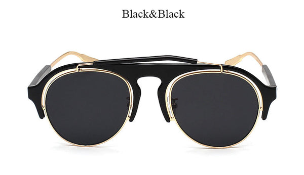 Unisex Mirrored Italian Style Aviators