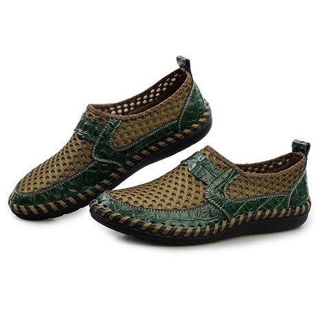 Alligator Genuine Boat Shoes Moccasins