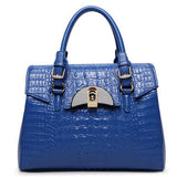 Moc Alligator Luxury Leather Handbag