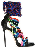 Multi Rope Straps Cross Sandals