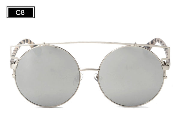 Vintage Bohemia Double Wire Oversized Sunglasses