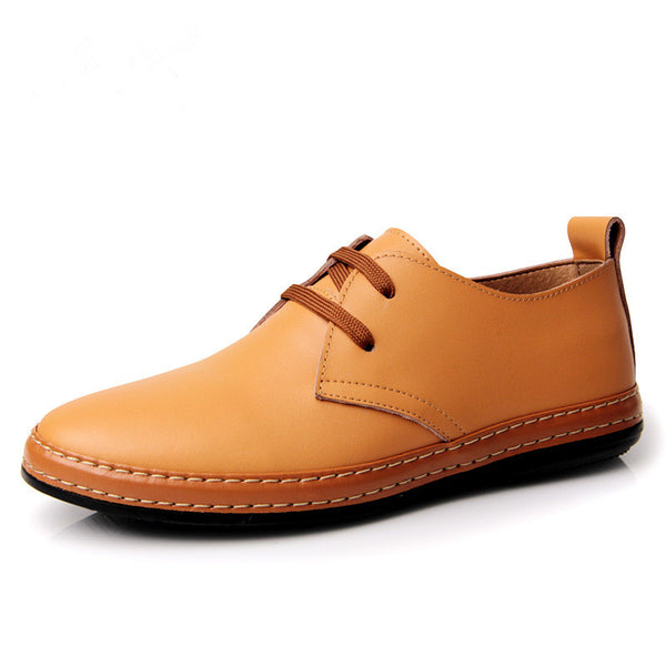 Handmade Genuine Leather Breathable Oxfords