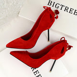 Red Bottom Pencil Heel Pumps
