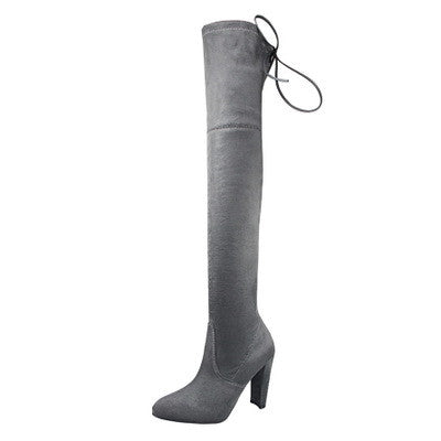 Elegant Over the Knee Thigh High Boots