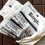 Newspaper Envelope Clutch Bag