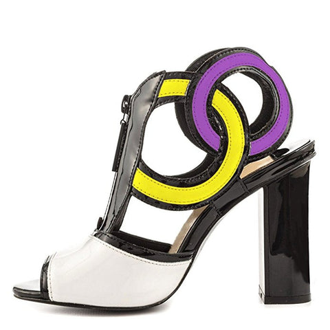 Intention Cool Runway Color Block Heels