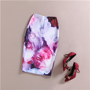 The Art Collection Heavenly Knee Length Pencil Skirt