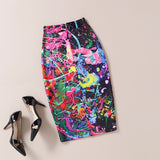 The Art Collection Jupe Femme Knee Length Pencil Skirt