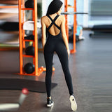 She's the Boss - One Piece Workout Jumpsuit