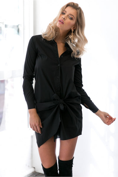 The Knot - Chic and Elegant Shirt Dress