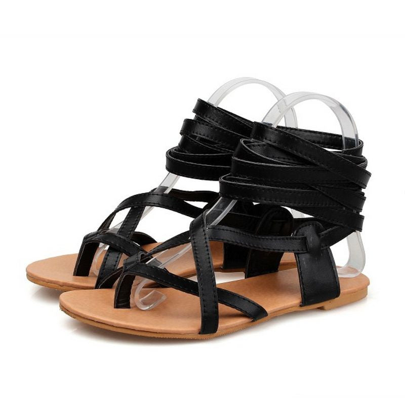 0ec74b70cc1 Convertible Gladiator Flat Sandals – THULI NYC