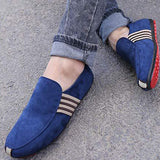 Suede Moccasins Leisure slip-ons