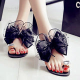 Toe Ring Open Toe Flower Flip-Flop Flat Sandals