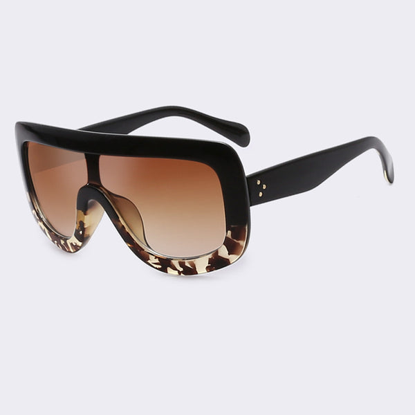 Square Vintage Acetate Gradient Sunglasses