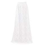 Bohemian Lace Layered Hitched Maxi Skirt