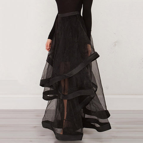 Empire Ball Gown Ruffles Skirt