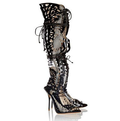 d69207e33da9 Zapatos Mujer Butterfly Mixed Colors Gladiator Sandals Cut-Outs – THULI NYC
