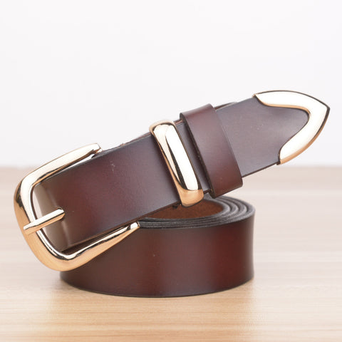 Genuine Leather Vintage Belt