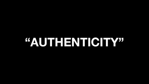 EDITORIAL: Authenticity