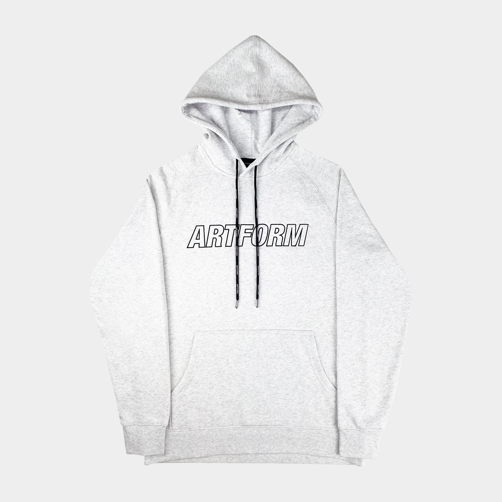 Laced Hoodie White Heather