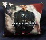 45cm x 45cm Captain America Cushion - Rainbow Fabrics