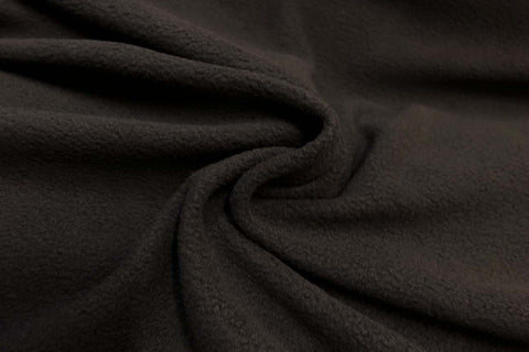 APP: Dark Brown Anti Pil Polar Fleece - 13
