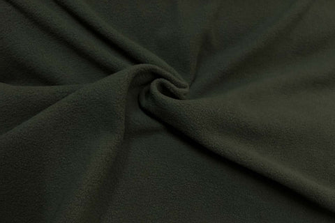 APP: Dark Olive Green Anti Pil Polar Fleece - 10