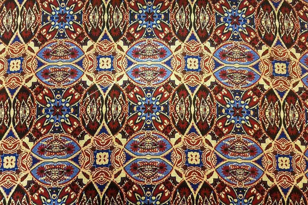 AT: Mitote Abstract Aztec Tapestry - Rainbow Fabrics