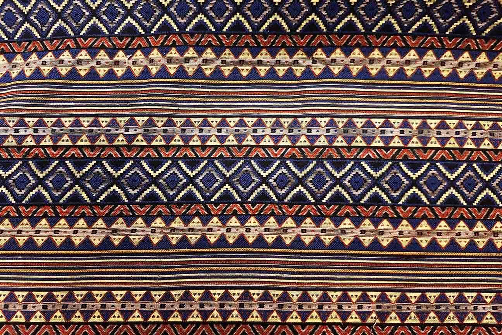 AT: Texcoco Weave Aztec Tapestry - Rainbow Fabrics