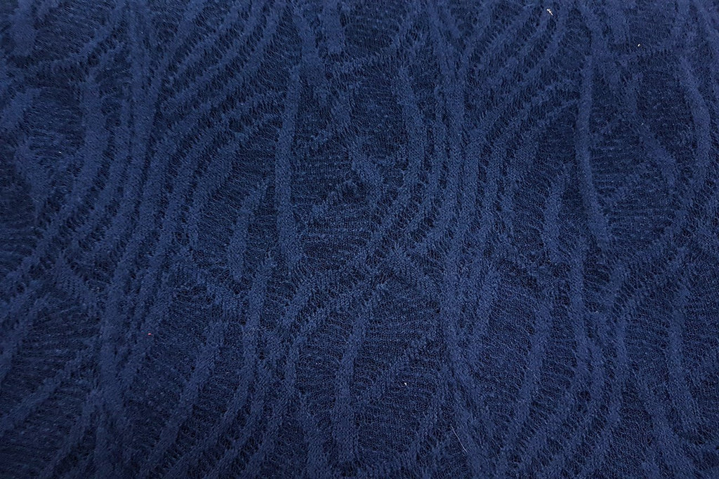 AW: Navy Blue Gage Acrylic Wool - Rainbow Fabrics