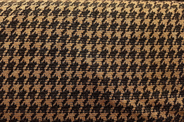 AW: Yellow & Black Diamonds Acrylic Wool - Rainbow Fabrics