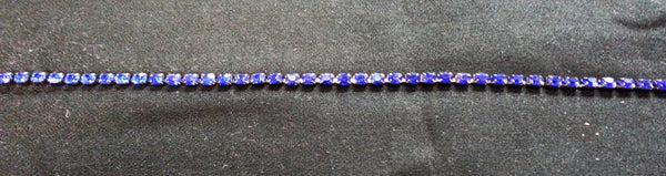 Blue Diamond Diamante Trim - Rainbow Fabrics