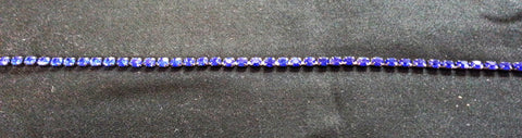 Blue Diamond Diamante Trim