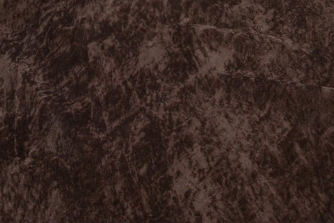 Brown Crushed Upholstery Velvet