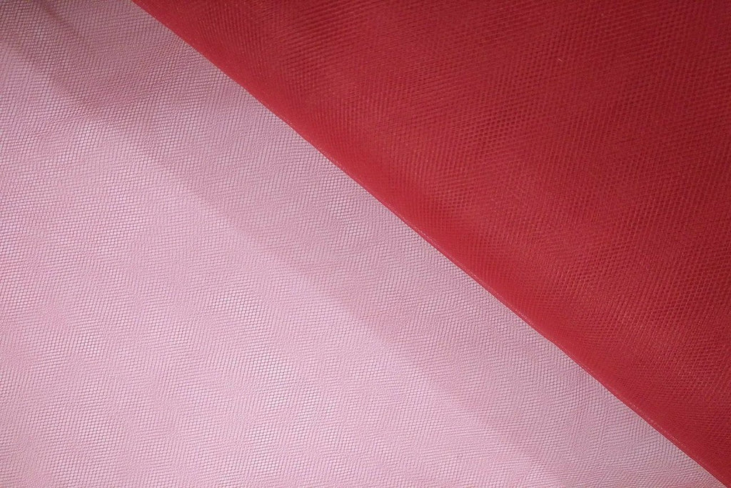 Rainbow Fabrics BT: Crimson Bridal Tulle