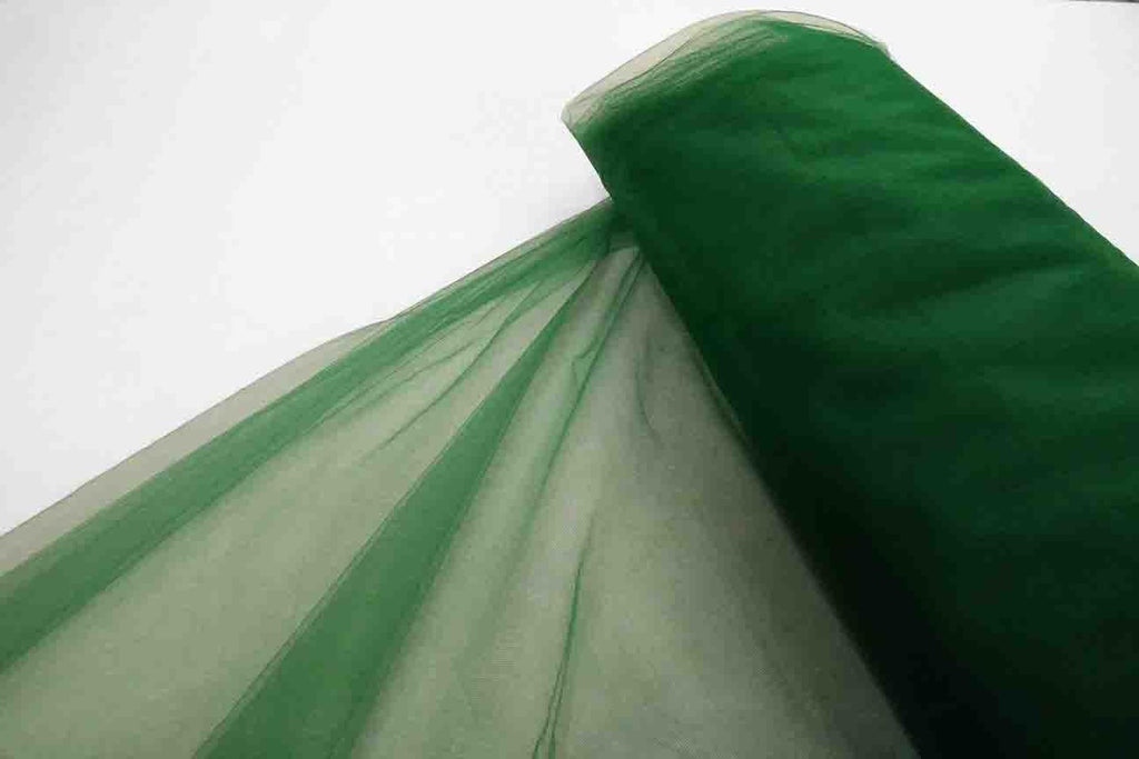 Rainbow Fabrics BT: Emerald Green Bridal Tulle