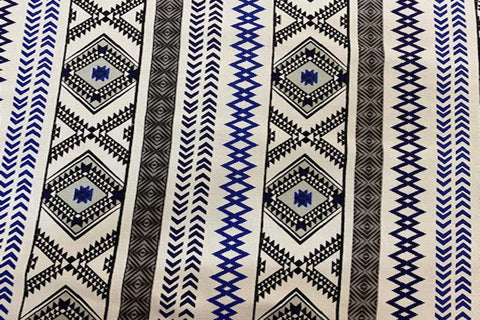 Ca2: Aztec Pattern # 2 Canvas