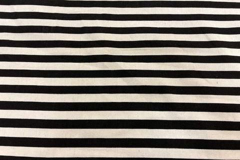 Ca2: Black and White Stripe Canvas_SOLD OUT