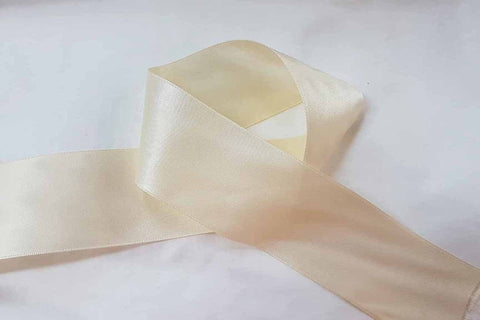 Cream Ribbon