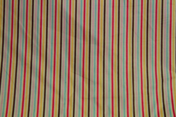 Rainbow Fabrics CS: Rainbow Stripe Multi Coloured Craft Fabric